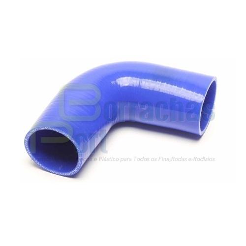 Tubo Radiador Silicone curvo